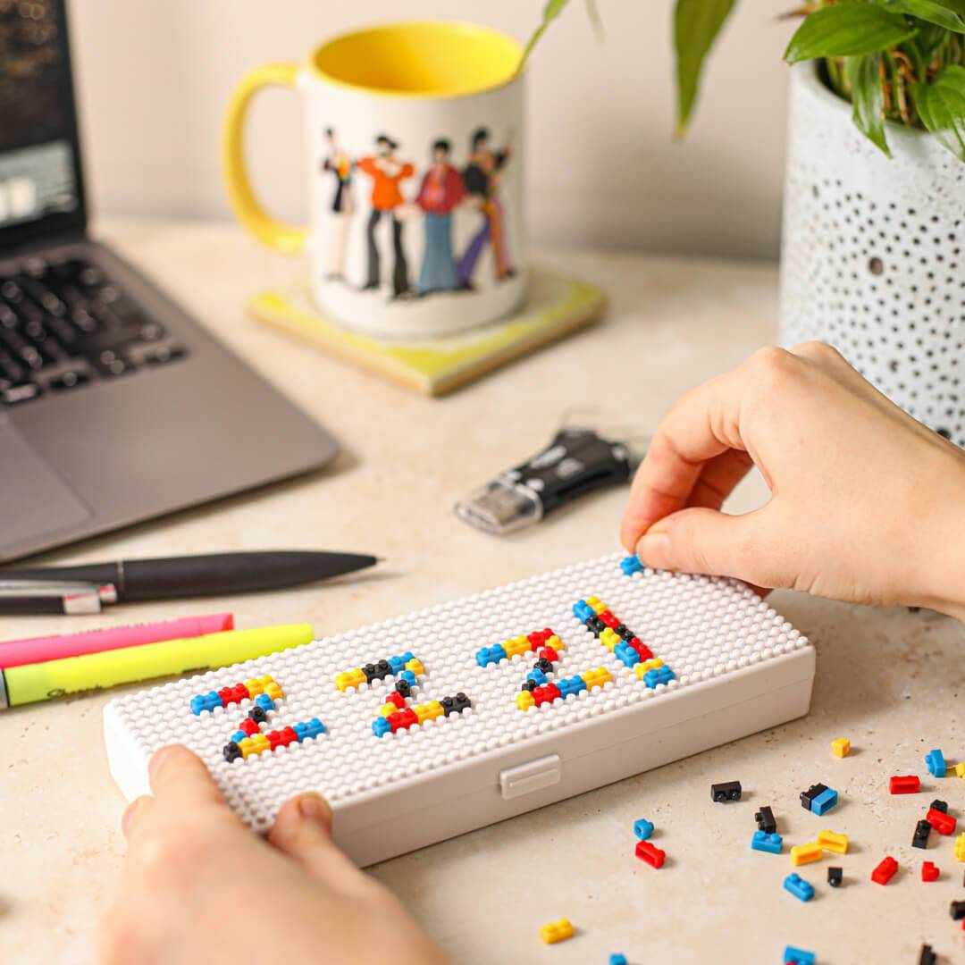 Micro Brix Pencil Case