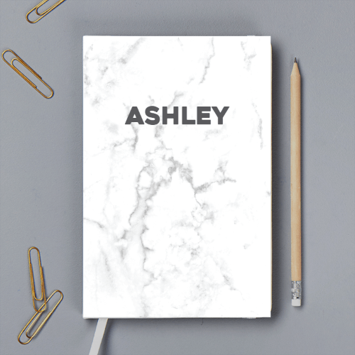 Personalisable Marbel Notebook