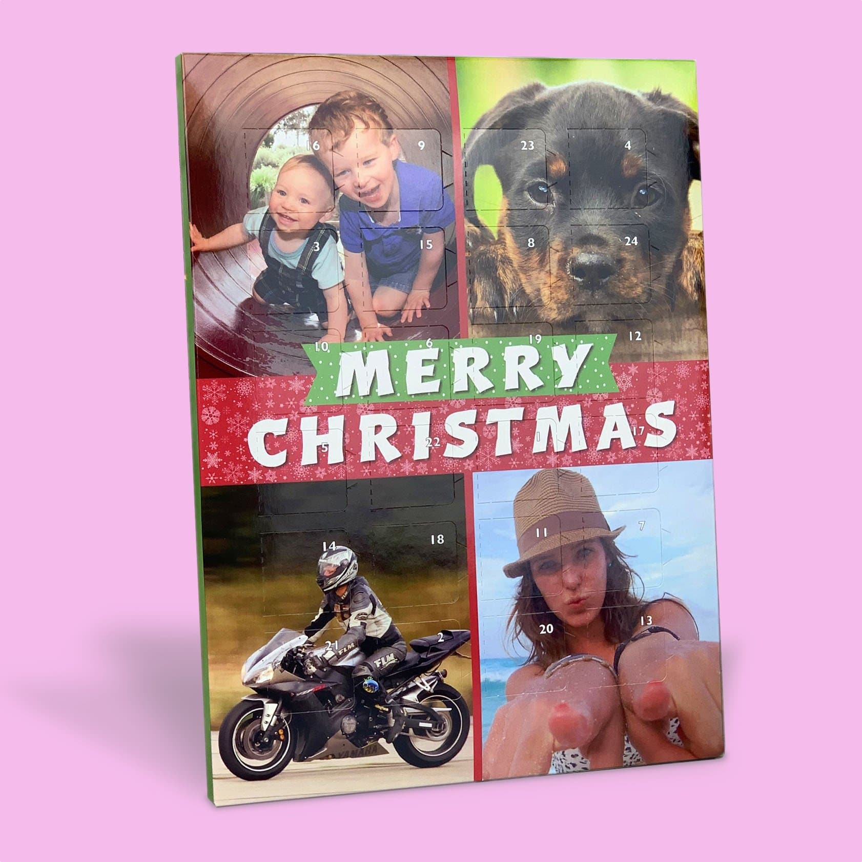 Personalised Advent CalendarFour - Photo Upload