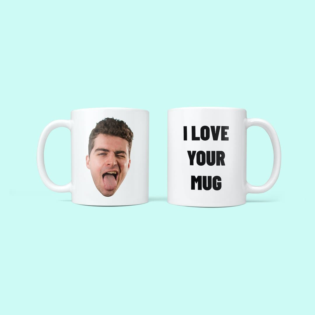 Personalised Face & Message Mug