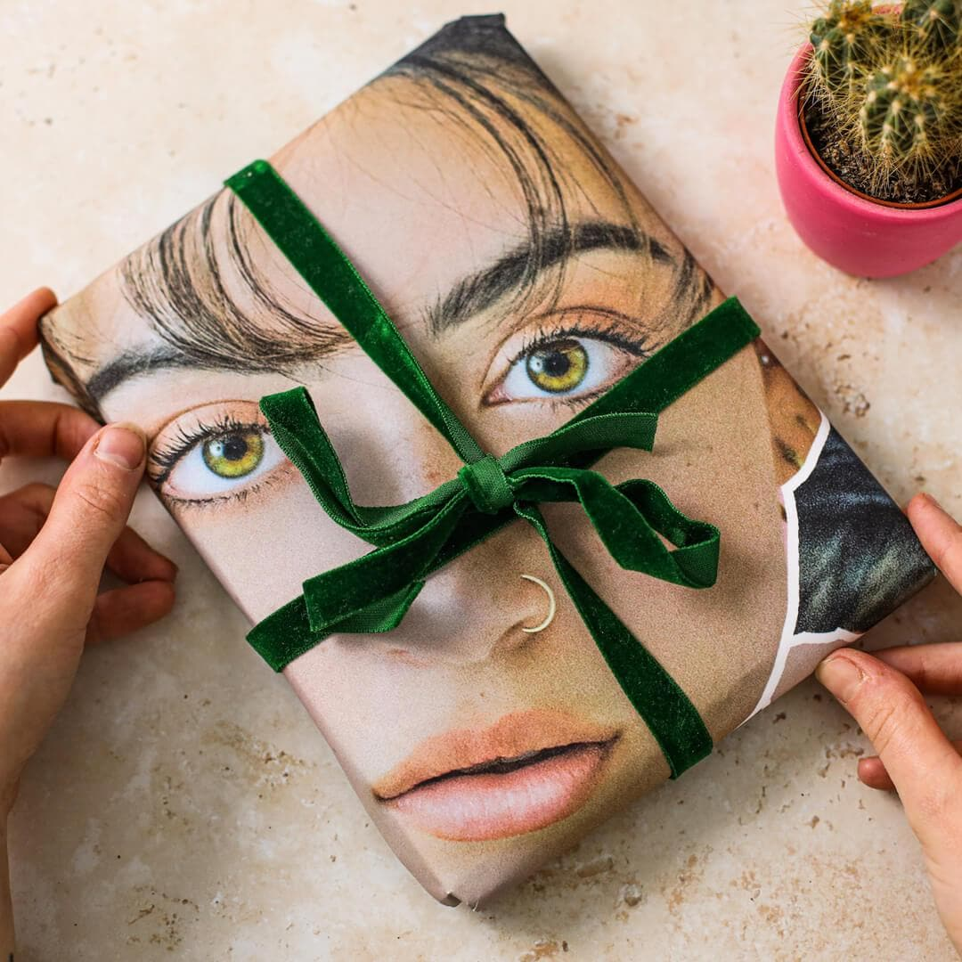 Personalised Face Wrapping Paper