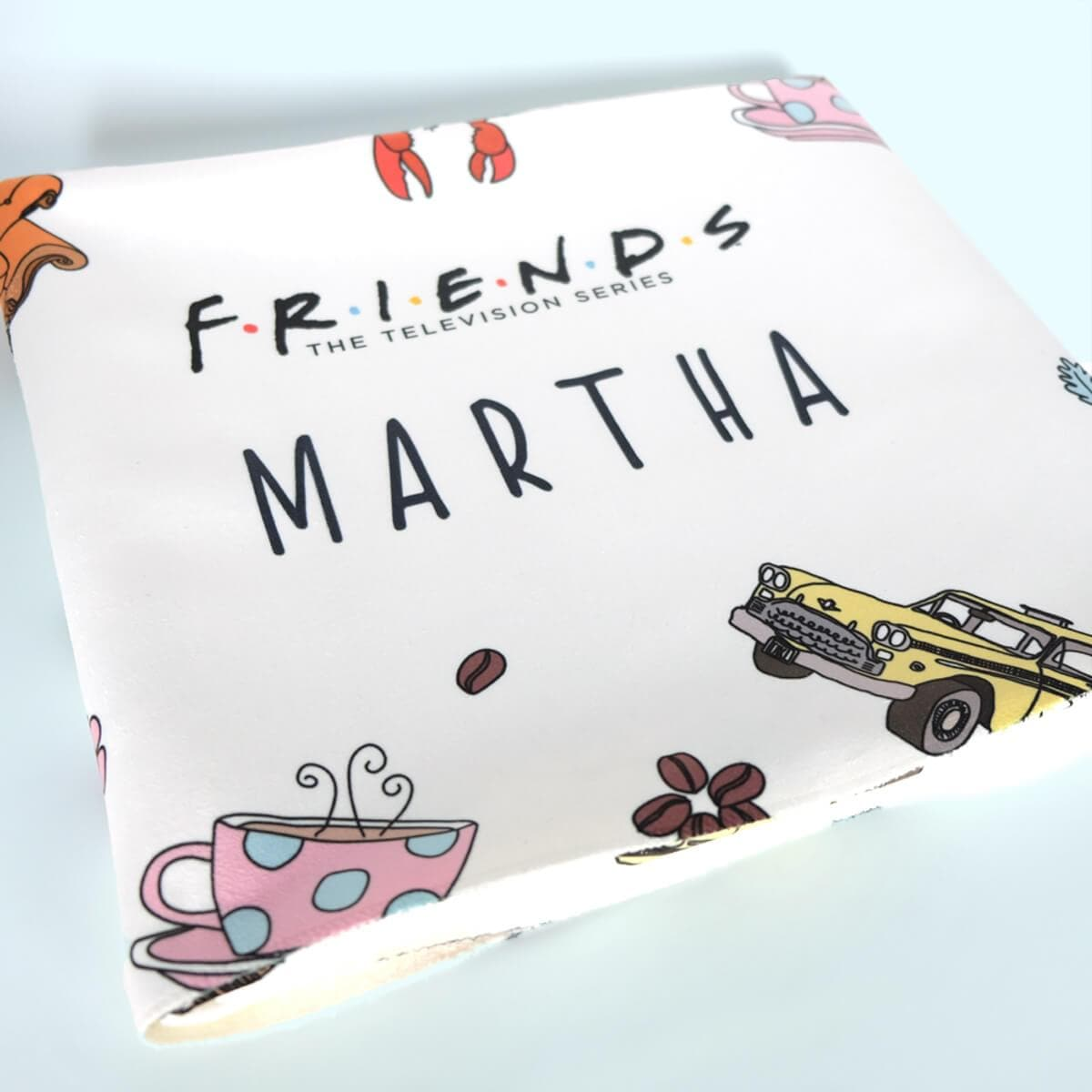 Personalised Friends™ Fleece Blanket