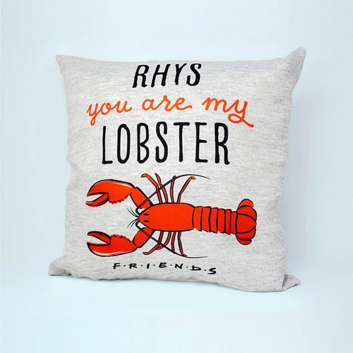 "Personalised Friends™ ""Lobster"" Cushion"