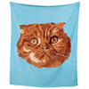 Personalised Pet Face BlanketBlue