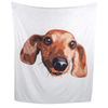 Personalised Pet Face BlanketWhite