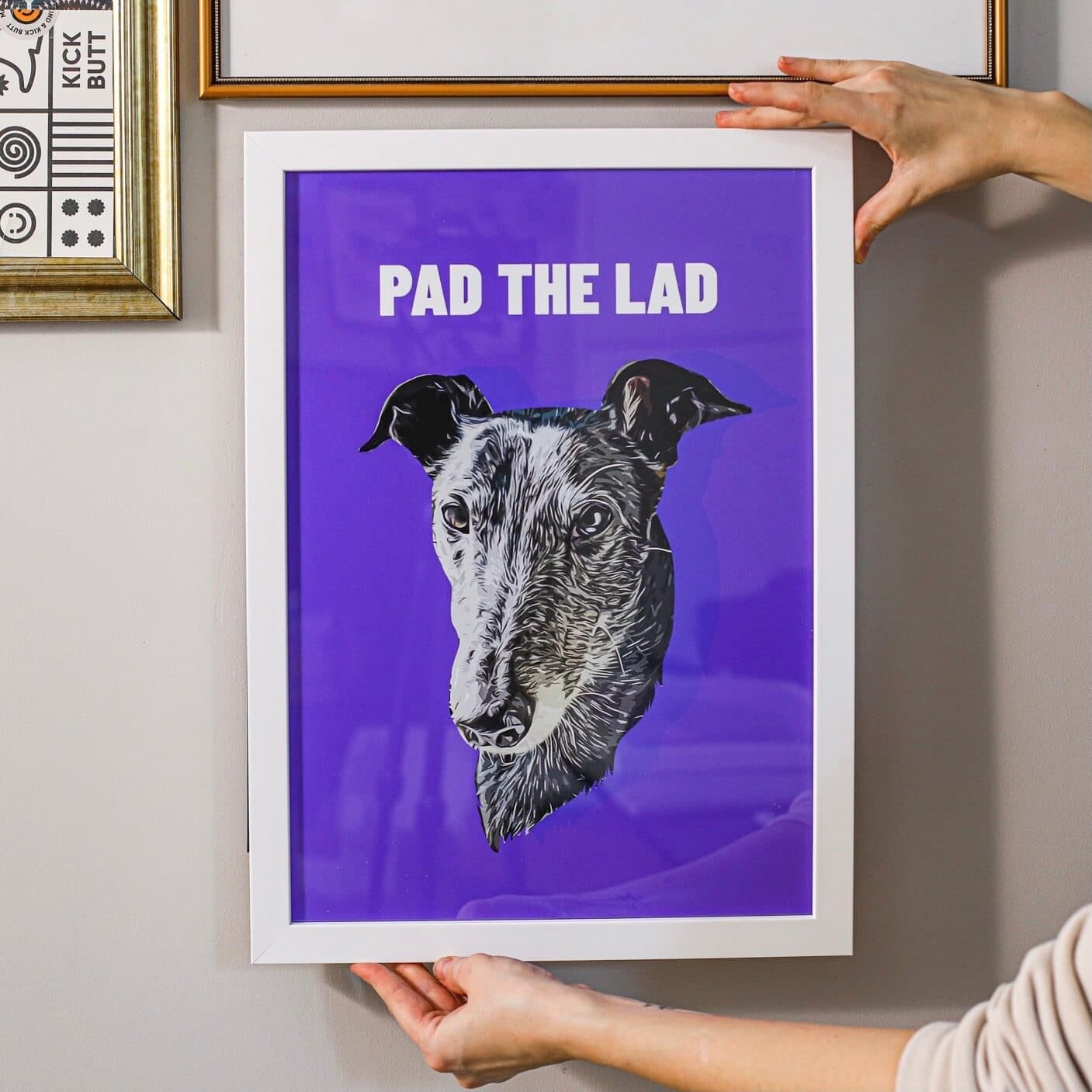 Personalised Pet Portrait Poster