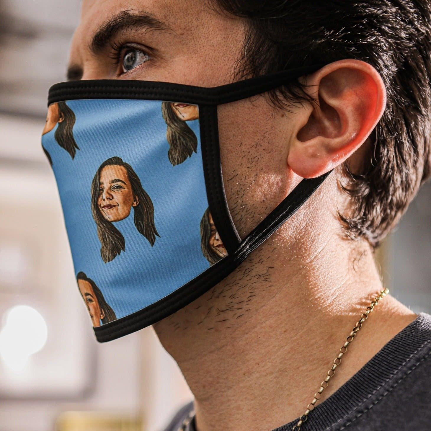 Personalised Photo Face Mask