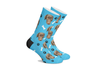 Personalized Pet SocksBlue - Paw and Bone