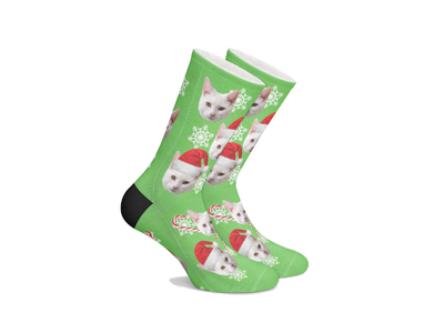 Personalized Pet SocksChristimas