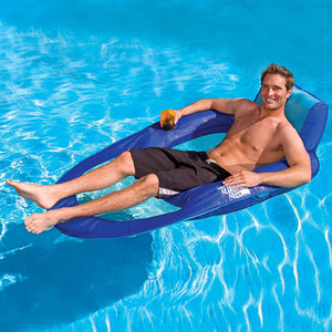 (BUY 2 GET 1 FREE) Float Recliner - Swim Lounger for Pool or Lake