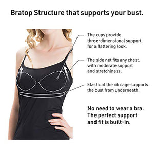 BraCami Tank with Built-In Bra (Buy 2 Free Shipping)