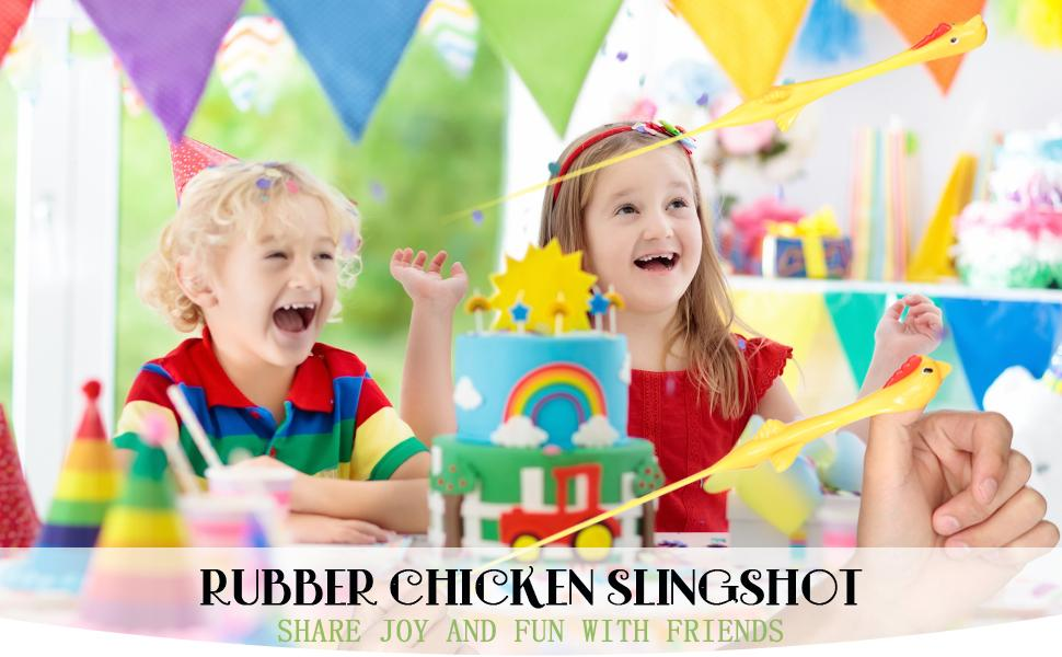 Only $4.99-Stretchy Funny Rubber Chickens