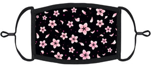 ADULT SIZE - Cherry Blossom Face Mask - Washable & Reusable - IN STOCK
