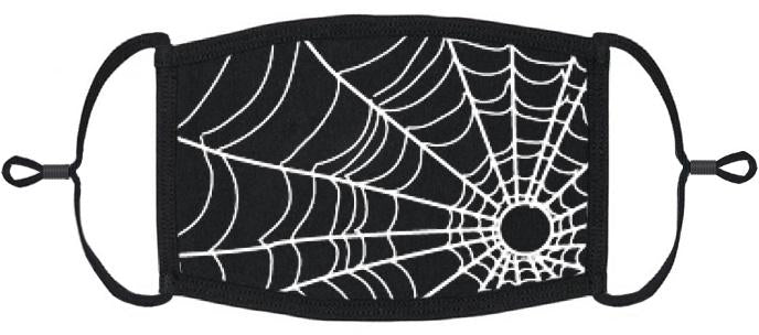 ADULT SIZE - Spiderweb Fabric Face Mask - Washable & Reusable - IN STOCK