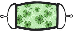 LITTLE KIDS SIZE - St Patrick's Day Fabric Mask- Washable & Reusable - IN STOCK