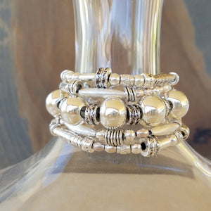 Great Balls of Silver Bracelet