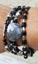 Load image into Gallery viewer, Midnight Moonstone Bracelet
