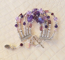 Load image into Gallery viewer, Purple Peezy Bracelet