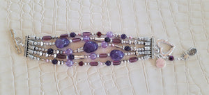 Purple Peezy Bracelet