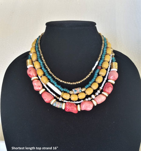 Evening Sunset Necklace