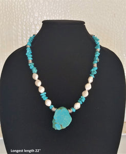 Mystical Turquoise Necklace