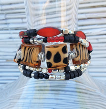 Load image into Gallery viewer, Lions Zebras & Leopards Bracelet Oh My!