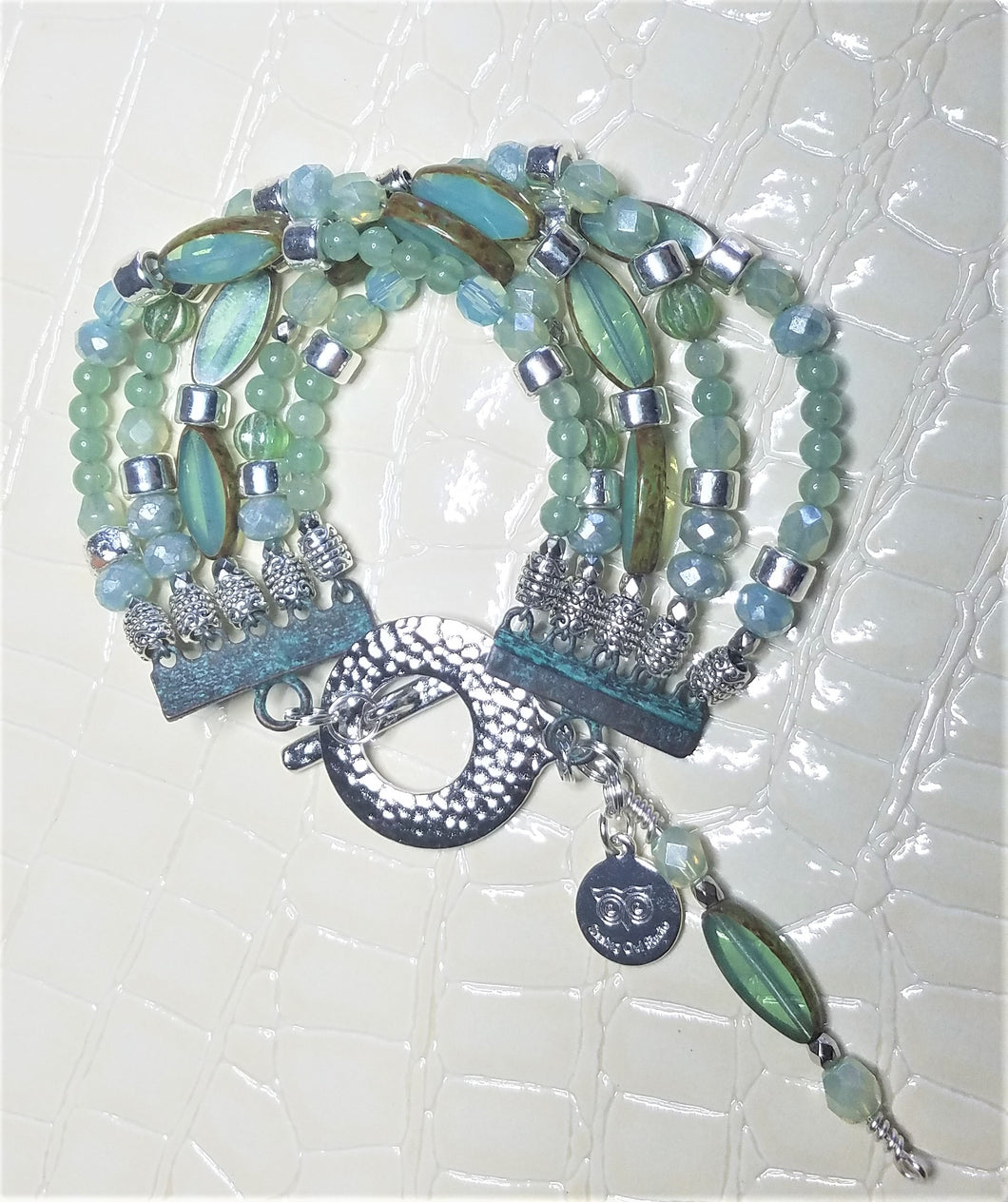 Mint Green Nuture Bracelet