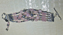 Load image into Gallery viewer, Rosey Rose Quartz Bracelet