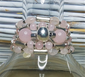 Rosey Rose Quartz Bracelet (another one)
