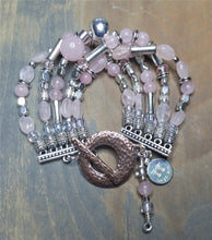 Load image into Gallery viewer, Rosey Rose Quartz Bracelet (another one)