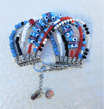 Load image into Gallery viewer, Blue Sky Boho Bracelet