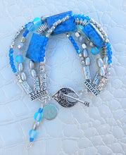 Load image into Gallery viewer, Iridescent Blue Bracelet
