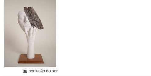 CORK UNIQUE, Sculptures by GAIPI, Collection of author Art pieces - Confusão do Ser
