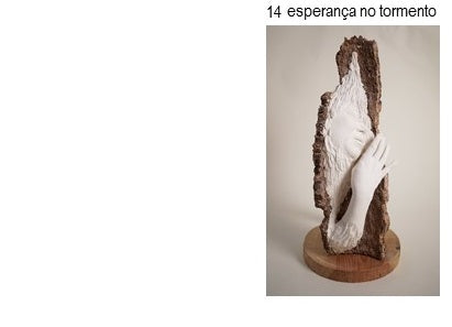 CORK UNIQUE, Sculptures by GAIPI, Collection of author Art pieces - Esperança no Tormento