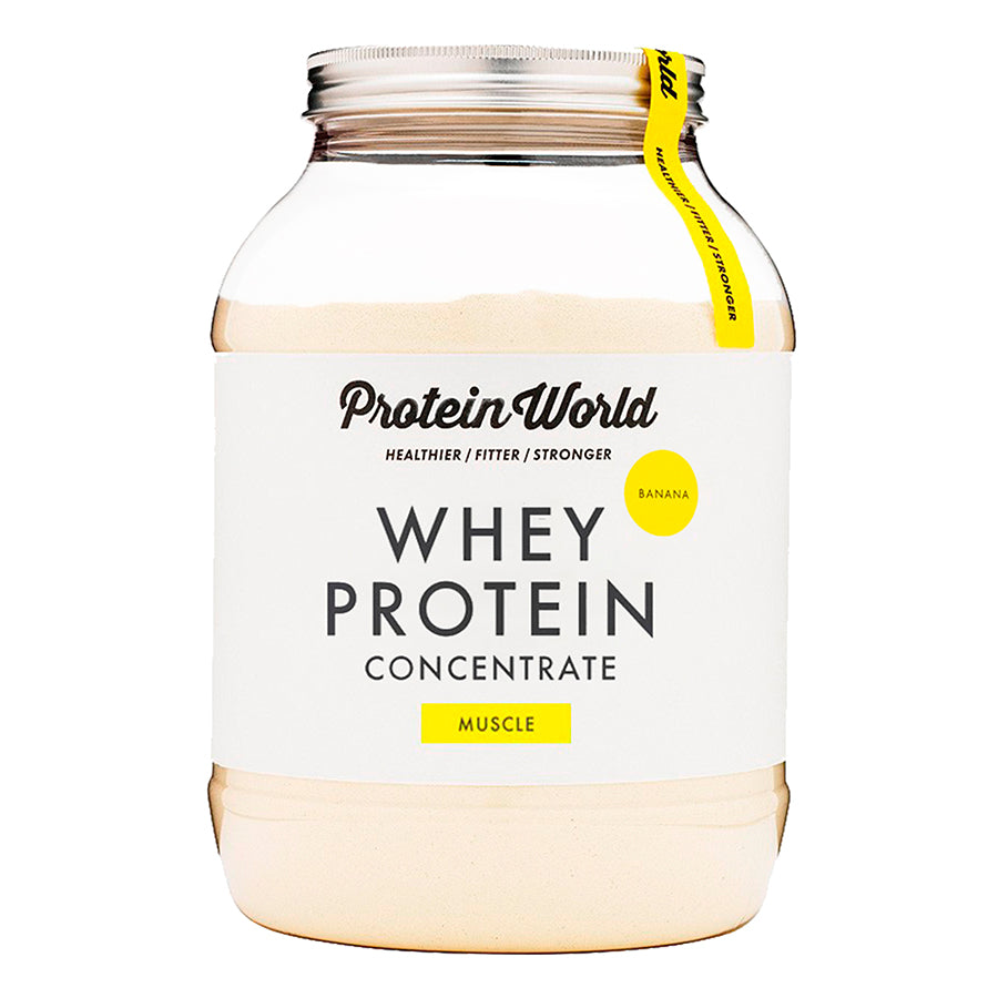 Whey Protein Concentrate: Banana - 450g