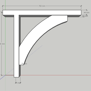 Softwood Gallows Brackets 2