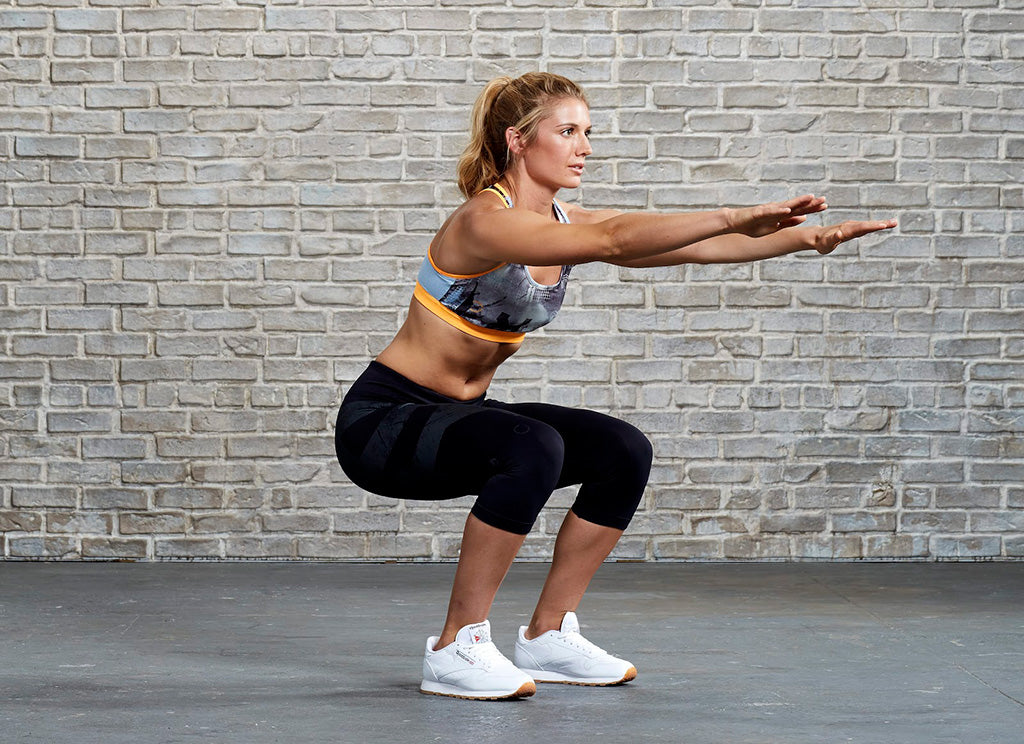 Squat with Double Pulse