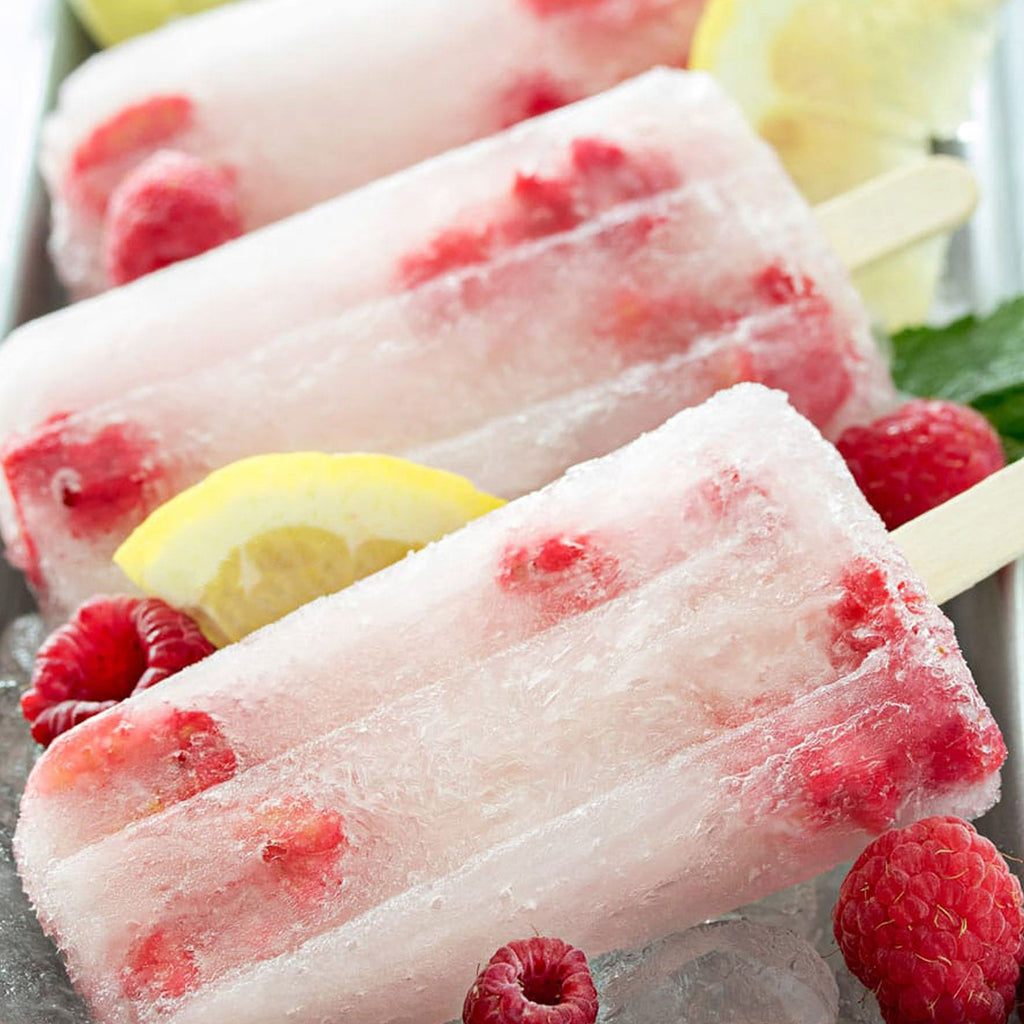 Frozen Fruit/Lemonade/Yogurt Popsicles (homemade)