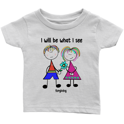 Girl Forgiving Infant Tee (2010)