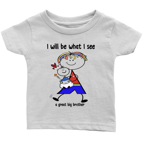 Big Brother Little Brother Infant Tee (2012)