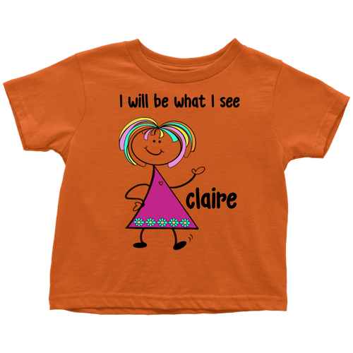 CLAIRE Toddler Tee (4022)