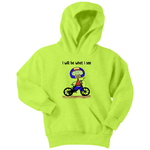 Boy BMX Biking Youth Hoodie (3034)