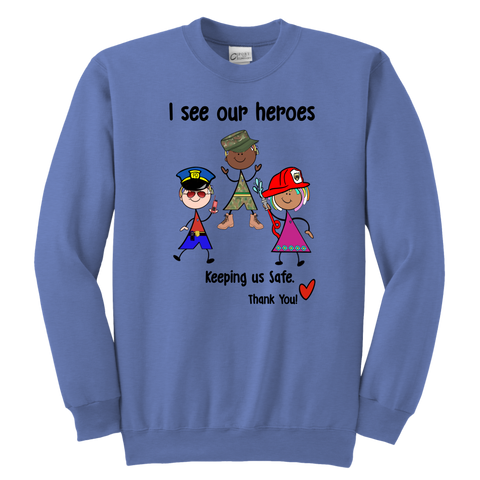 Responder Heroes Youth Sweat (8703)