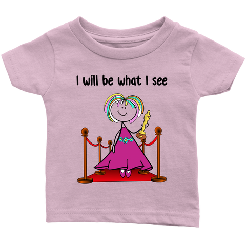 Girl Actress Infant Tee (1045)