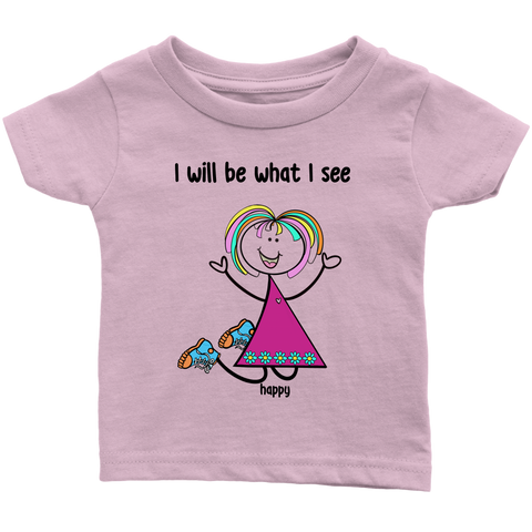 Girl Happy Infant Tee (2003)