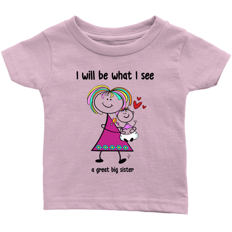 Big Sister Little Sister Infant Tee (2014)
