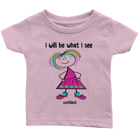 Girl Confident Infant Tee (2027)