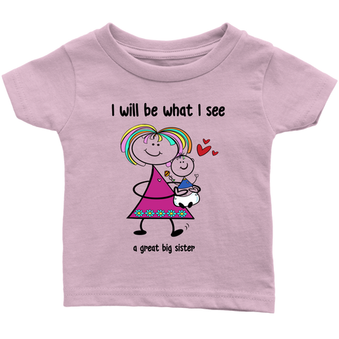 Big Sister Little Brother Infant Tee (2015)
