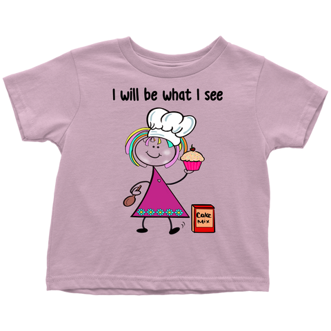 Girl Baker Toddler Tee (1029)
