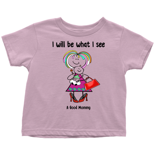 A Good Mommy Toddler Tee (3086)